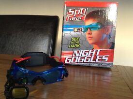 Spy Gear Kids Goggles