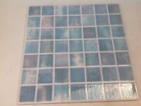 """11 x 10"""" x 10"""" Blue Wall tiles"""