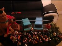 HUGE SCOOBY DOO TOY COLLECTION BUNDLE PERFECT FOR CHRISTMAS