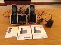 Philips ID555 cordless phone