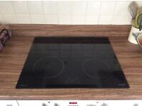 Induction glass ceramic built in cooking hob- excellent condition