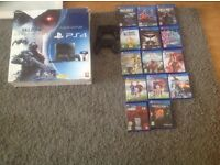 Ps4 2 controllers 14 games