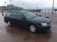 TOP OF RANGE SUBARU LEGACY AWD. AUTO. ESTATE. MAY 18 MOT. 12 SUBARU STAMPS. GREAT CAR