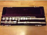 Jupiter Flute with hard case and soft carry bag