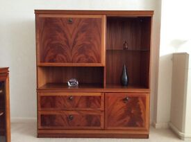 Wooden cabinet / display unit