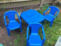 Free Table and Chairs Kids Set