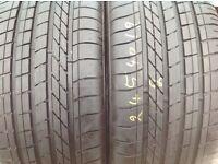 Part worn tyres - Goodyear 245/45/19- Runflat--6mm+ / unit 90 fleet road ig117bg barking