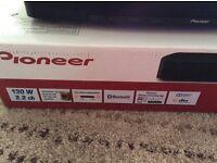 Pioneer sound bar/base/Home cinema system Bluetooth