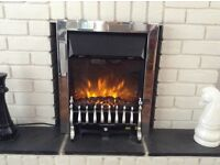 Electric Coal effect flame fire