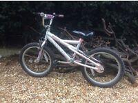 Girls bicycle / bike age 6-8 BMX style vgc