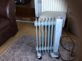 Beldray Electric Radiator 2 months old .