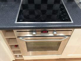 AEG electric oven and hob,excellent condition , little used