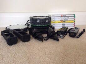 Nintendo Wii + Games (inc 3 Skylanders games & 39 Characters)