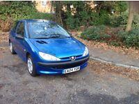 Peugeot 206 1.4 HDI 2004 3 Door