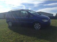 05 Vauxhall zafira 1.6 special edition