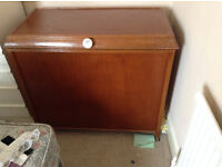 Wooden Vintage Bedding/Blanket/Storage Box