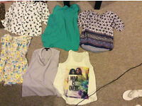 Great conditoin womens clothes from topshop, river island and oasis. Sizes 10