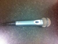 Philips dj microphone fully working order long lead