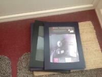 24 pocket presentation display books. 5 off