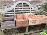French Wooden Wine Boxes (4)