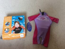 All in one Buoyancy Aid and UV protection suit