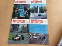 Four 1967 Autosport Magazines