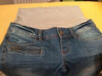 Mama Licious Maternity Jeans Size 26/34