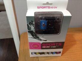 Multi purpose Sports Camera HD DV water resistant 30m reduced