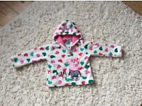 Peppy Pig fleece 2-3 years excellent condition