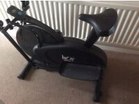 Home Exercise Bike/Cross Trainer (Convertable)