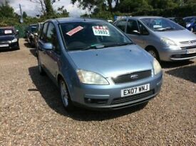 image for Ford, FOCUS C-MAX, MPV, 2007, AUTOMATIC @ Aylsham Road Affordable Cars
