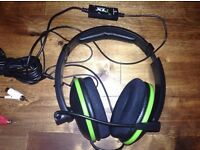 Turtle beach gaming headset forXBox 360