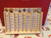 Wooden Coin rack