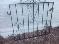 Metal gate 38 tall 38 wide