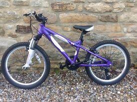 Girls Ridgeback 'Melody' bike, suit 5-7 year old + Girls Carrera 'Luna 20' suit 7-9 year old