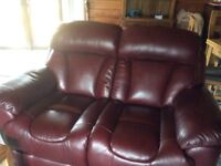 2 seater leather couch for sale - excellent quality