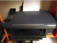 Peon Stylus DX8400 printer in excellent condition complete with some compatible inks