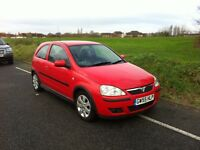 Vuaxhall Corsa 1.2 SXI 2006/55 reg, Very Low Genuine Mileage 40980, Only 2 Owners