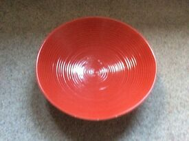Red Xmas bowl