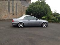 BMW convertible stunning example 59000 miles 13 month MOT MSport leather interior and wheels