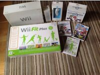Nintendo wii, wii fit and accesories