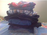 Bundle of boys shorts trousers bottoms pants in excellent condition size 5 - 6 116-122 cm