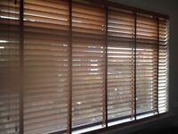 3 Wooden Venetian blinds