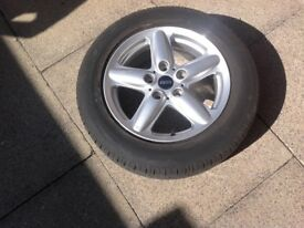 ALLOY WHEEL AND TYRE 205/60 R16