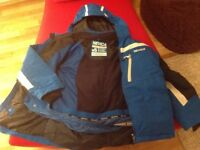 Nevica boys ski suit andsnow boots 11-12 yrs