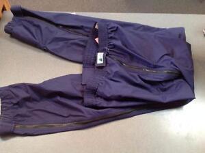 Ladies MEC Zip-off Rain Pants, size Large (sku: 4TXBTZ)