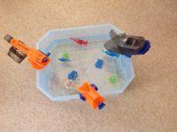 Hex bug aquabot