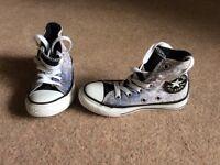 Converse All Star high top children's size 10