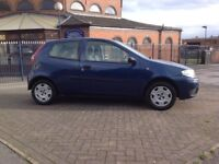 £500 BARGAIN 12 Months MOT Fiat Punto Active 1.2 New Exhaust, CD player, A great little car