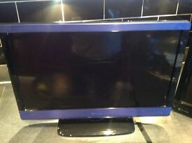 X2.22inch tv jvc LED technik LCD free view DVD combo